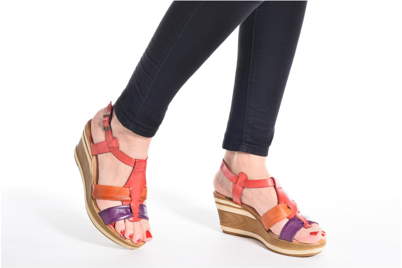 Sandalen Laura Vita Socio mehrfarbig ansicht von unten / tasche getragen