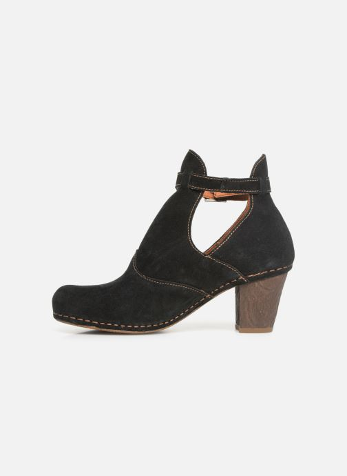 Ankle boots Art I Meet 143 Black front view