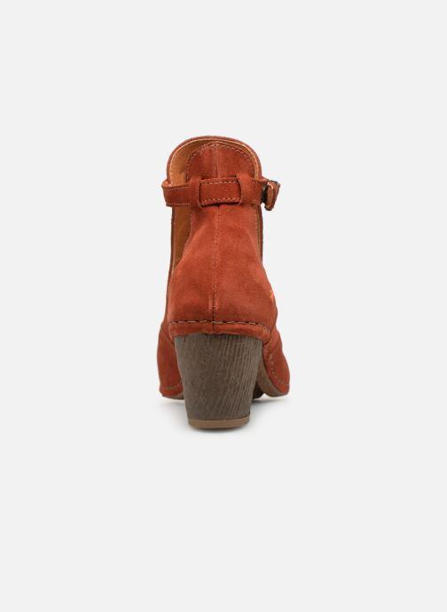 Bottines et boots Art I Meet 143 Rouge vue droite