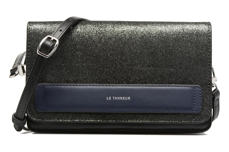 Handtaschen Le Tanneur Porté croisé Coquette TPM 3 soufflets glitter anti RFID schwarz detaillierte ansicht/modell