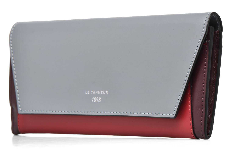 Wallets & cases Le Tanneur Porte monnaie Lily long 8 cc Multicolor model view