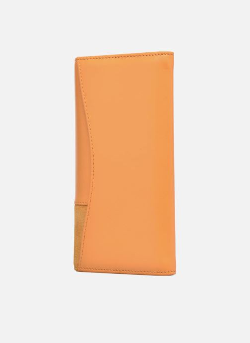 Wallets & cases Le Tanneur Porte monnaie Mila long Yellow view from the right