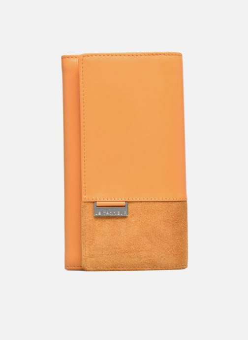 Wallets & cases Le Tanneur Porte monnaie Mila long Yellow view from the left