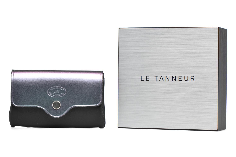 Mirror Tanneur 3 Porte soufflets couture sans Magic Mirror monnaie Magic Le Noir qvd0Fv