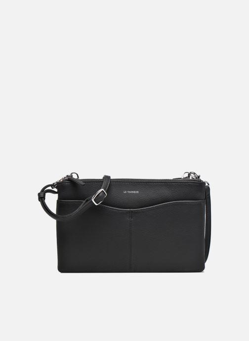 15e1cf1508 Sacs à main Le Tanneur Pochette double zippée Valentine Noir vue  détail/paire