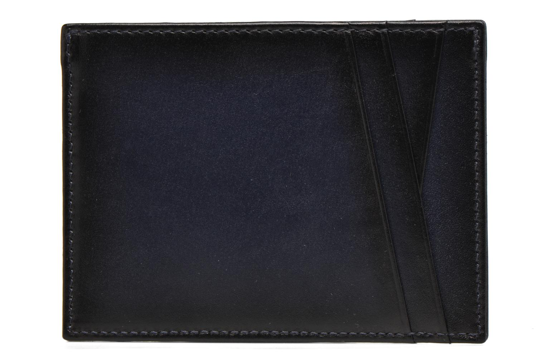 Kleine lederwaren Le Tanneur Porte papiers Corentin 4 poches 5cc anti RFID Blauw rechts