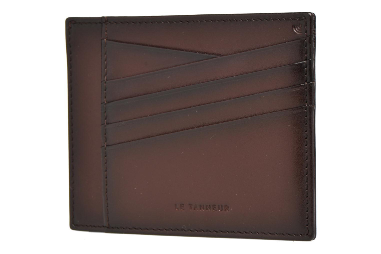 Portemonnaies & Clutches Le Tanneur Porte papiers Corentin 4 poches 5cc anti RFID braun schuhe getragen