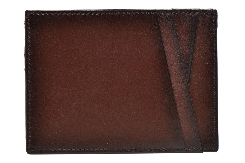Wallets & cases Le Tanneur Porte papiers Corentin 4 poches 5cc anti RFID Brown front view