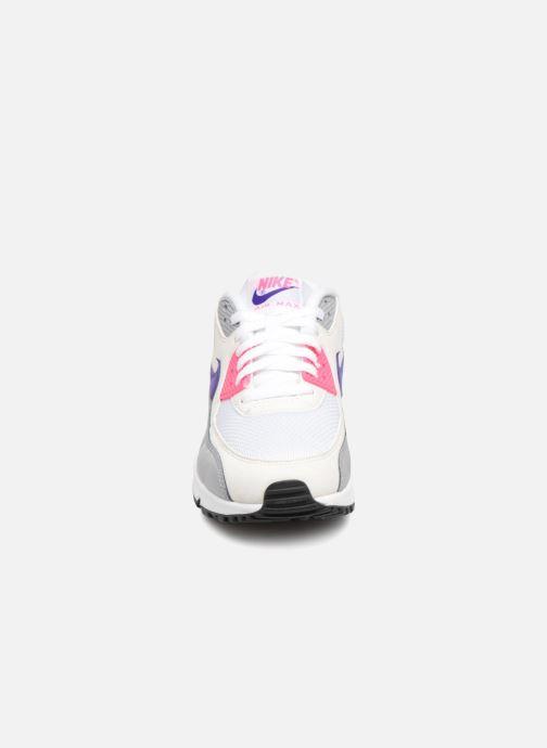 Baskets Nike Wmns Air Max 90 Blanc vue portées chaussures
