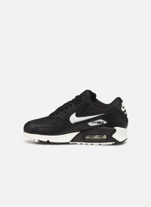 Sneakers Nike Wmns Air Max 90 Zwart voorkant
