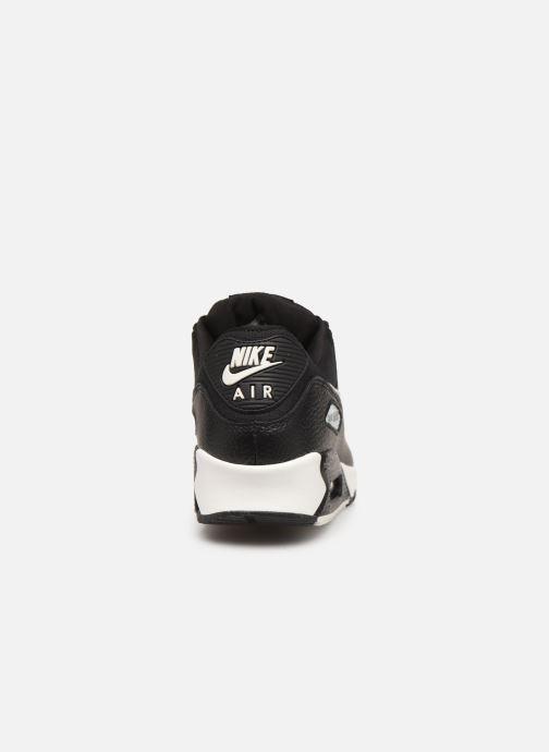 Sneakers Nike Wmns Air Max 90 Zwart rechts