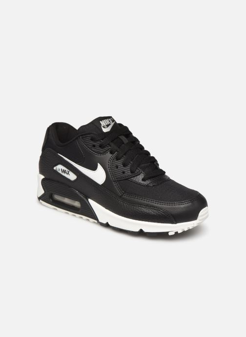 Trainers Nike Wmns Air Max 90 Black detailed view/ Pair view