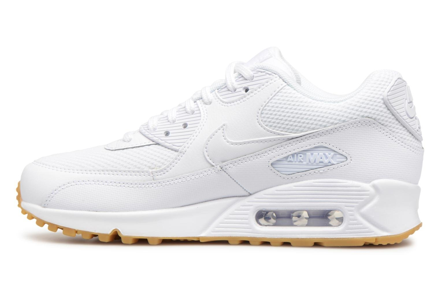 Sneakers Nike Wmns Air Max 90 Bianco immagine frontale