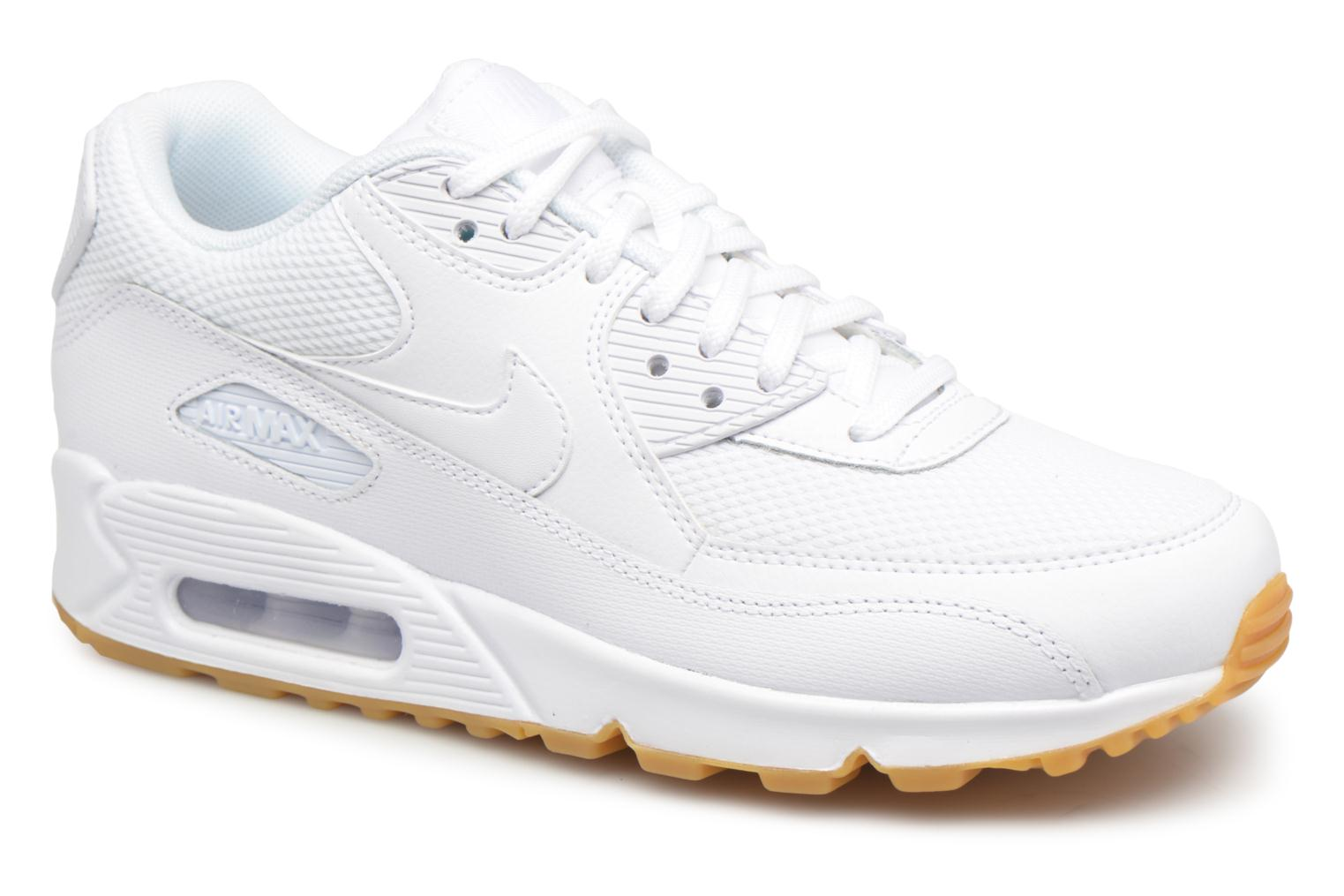 Baskets Nike Wmns Air Max 90 Blanc vue détail/paire