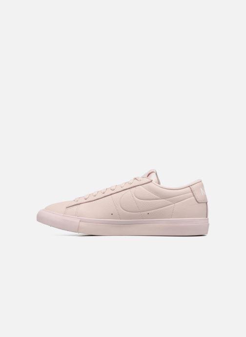 Sneaker Nike Blazer Low beige ansicht von vorne