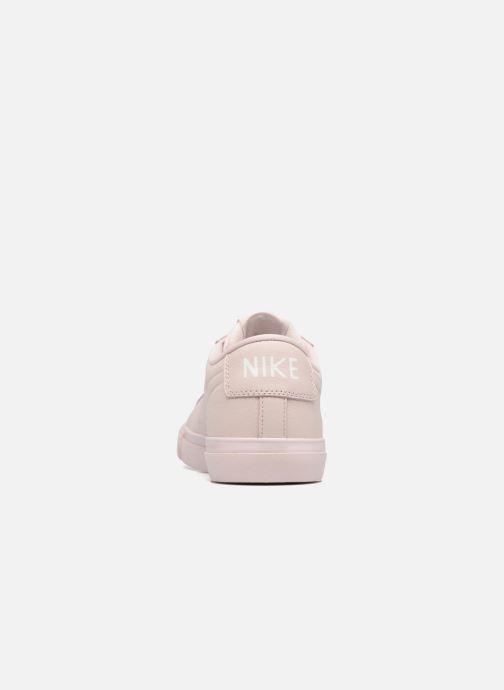 Baskets Nike Blazer Low Beige vue droite