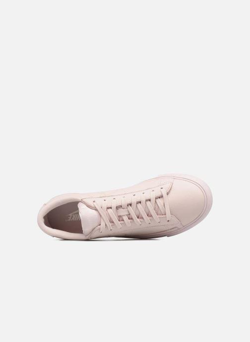 Sneaker Nike Blazer Low beige ansicht von links