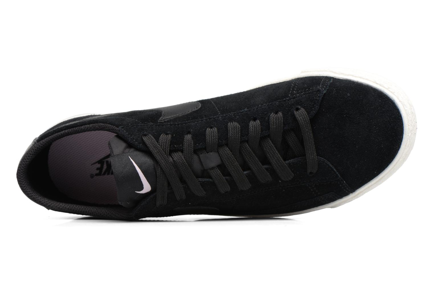 Sneakers Nike Blazer Low Sort se fra venstre