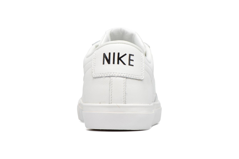 Sneaker Nike Blazer Low weiß ansicht von rechts