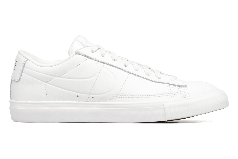 Sneaker Nike Blazer Low weiß ansicht von hinten