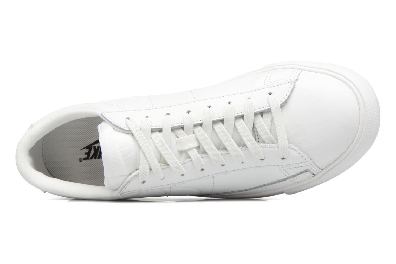 Sneaker Nike Blazer Low weiß ansicht von links
