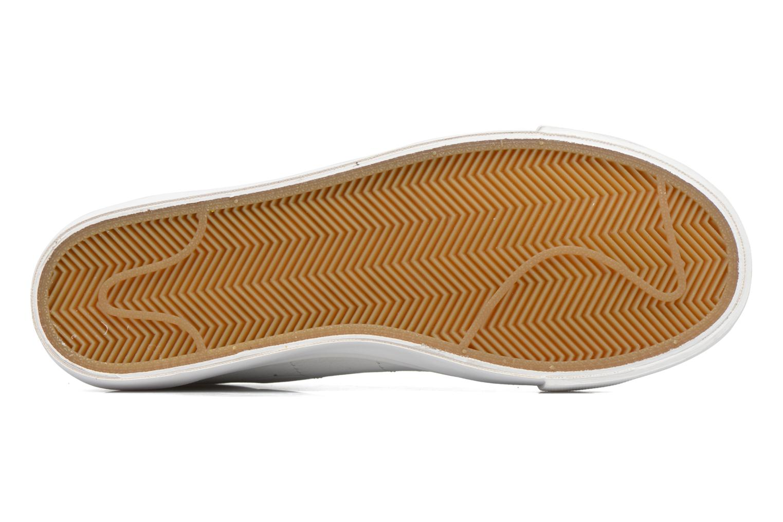Sneaker Nike Blazer Low weiß ansicht von oben