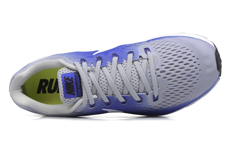 Zapatillas de deporte Nike Nike Air Zoom Pegasus 34 Azul vista lateral izquierda