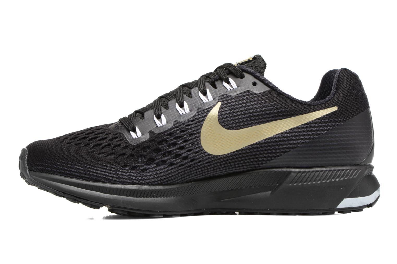 Chaussures de sport Nike Wmns Nike Air Zoom Pegasus 34 Noir vue face