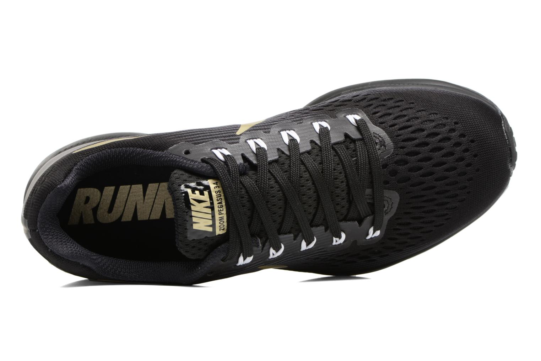 Chaussures de sport Nike Wmns Nike Air Zoom Pegasus 34 Noir vue gauche