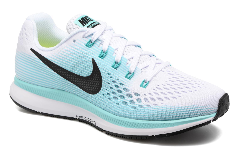 Chaussures de sport Nike Wmns Nike Air Zoom Pegasus 34 Bleu vue détail/paire
