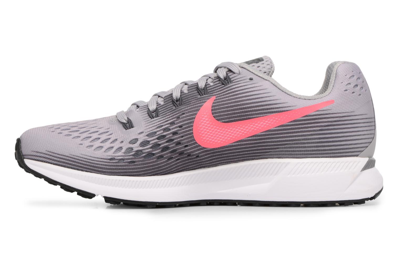 Chaussures de sport Nike Wmns Nike Air Zoom Pegasus 34 Gris vue face