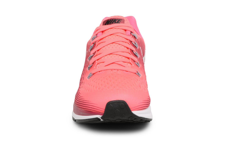 Chaussures de sport Nike Wmns Nike Air Zoom Pegasus 34 Rose vue portées chaussures