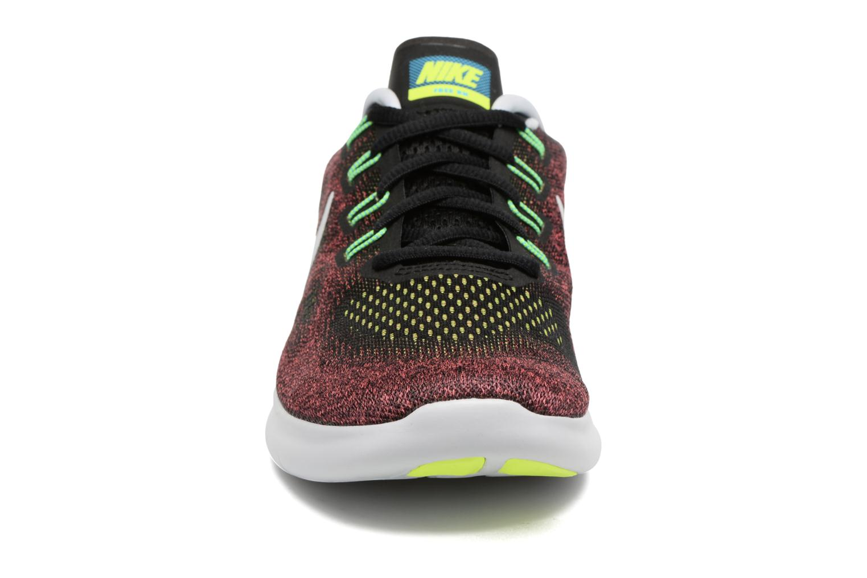 Chaussures de sport Nike Nike Free Rn 2017 Rouge vue portées chaussures