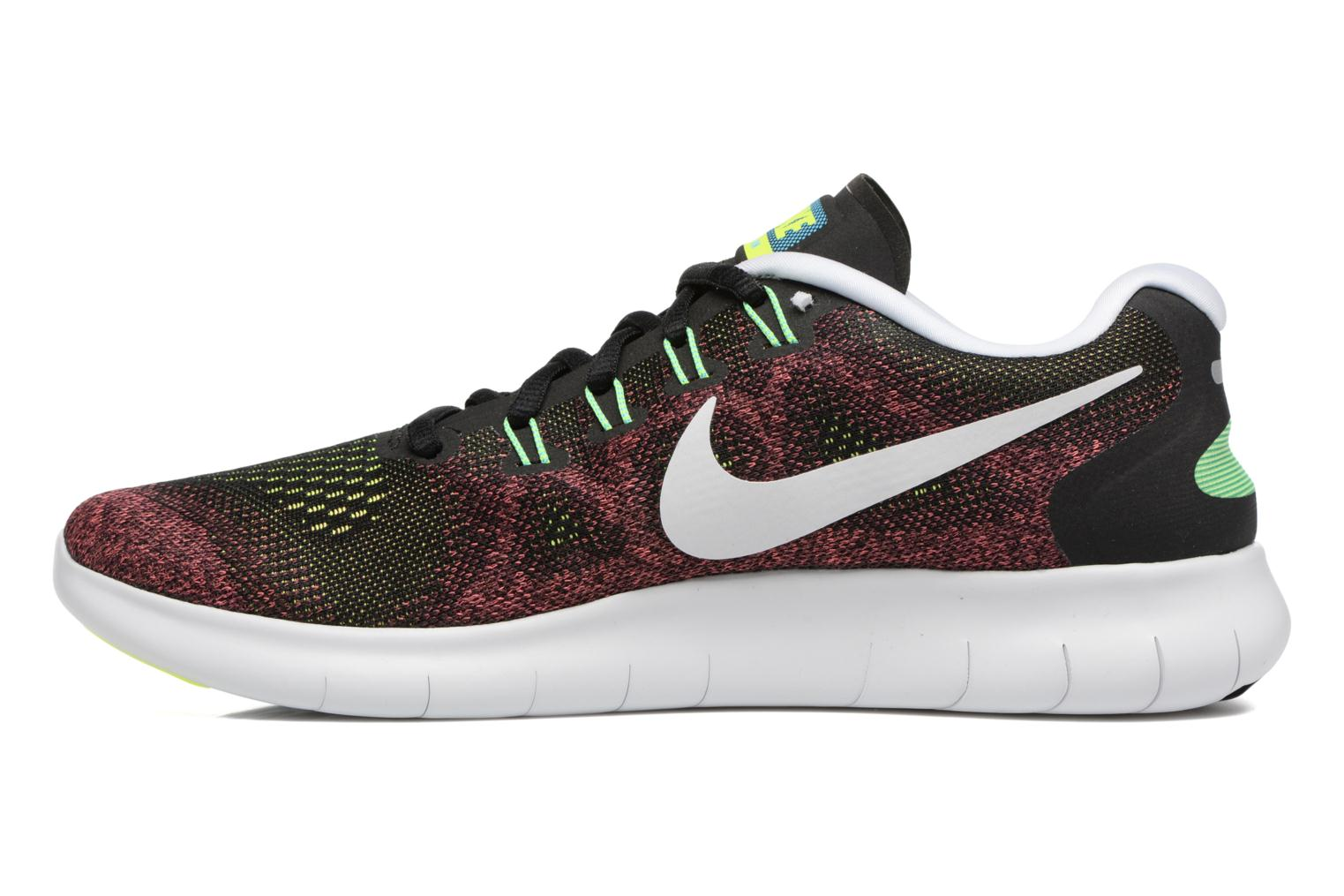 Chaussures de sport Nike Nike Free Rn 2017 Rouge vue face