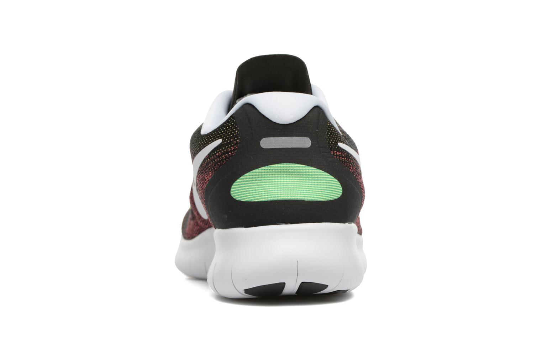 Chaussures de sport Nike Nike Free Rn 2017 Rouge vue droite