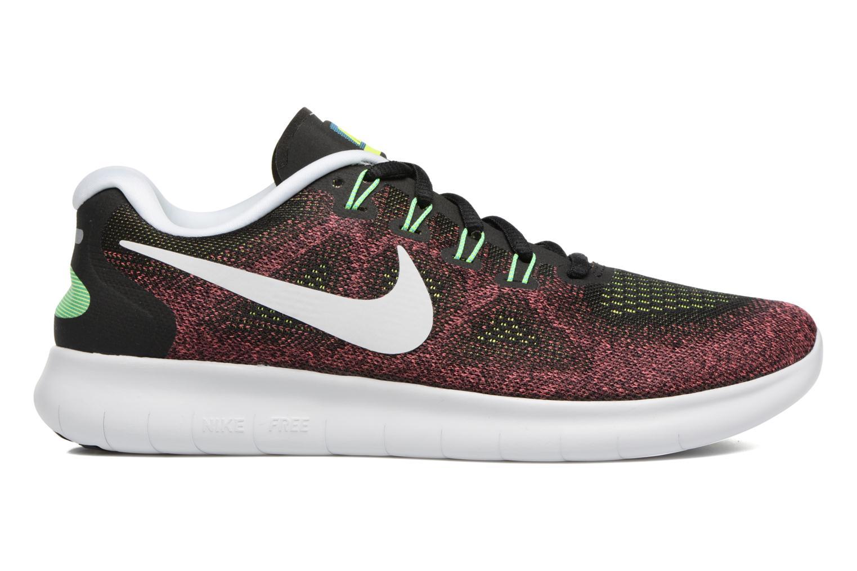 Chaussures de sport Nike Nike Free Rn 2017 Rouge vue derrière