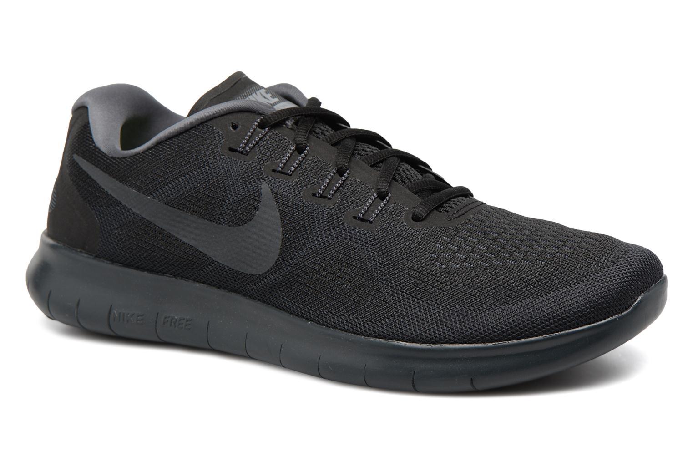 Sportssko Nike Nike Free Rn 2017 Sort detaljeret billede af skoene