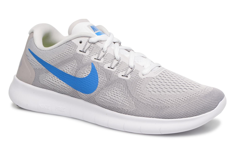 Chaussures de sport Nike Nike Free Rn 2017 Gris vue détail/paire