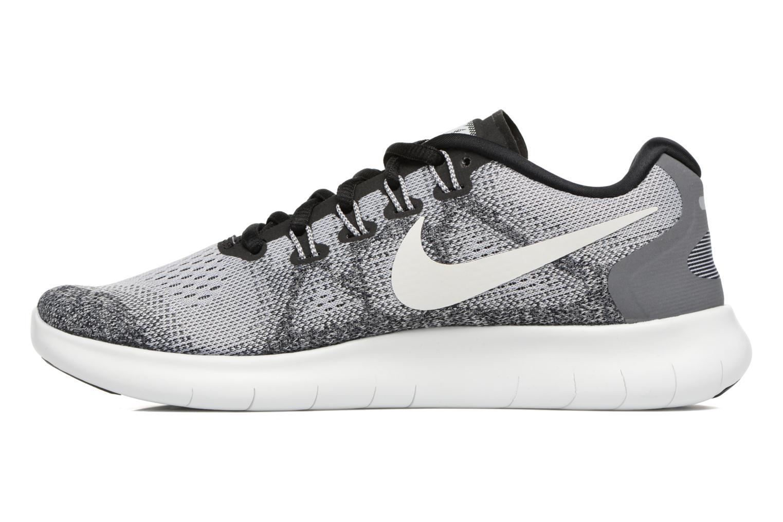 Zapatillas de deporte Nike Wmns Nike Free Rn 2017 Gris vista de frente