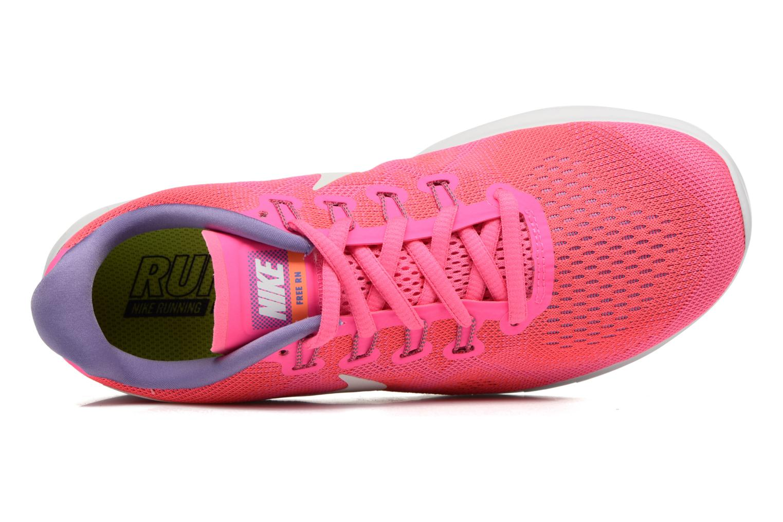 Chaussures de sport Nike Wmns Nike Free Rn 2017 Rose vue gauche
