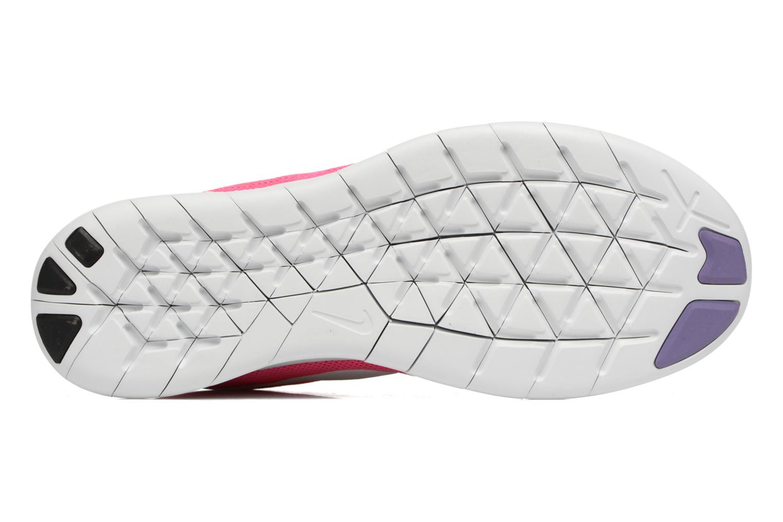 Chaussures de sport Nike Wmns Nike Free Rn 2017 Rose vue haut
