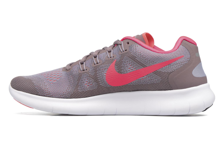 Chaussures de sport Nike Wmns Nike Free Rn 2017 Violet vue face