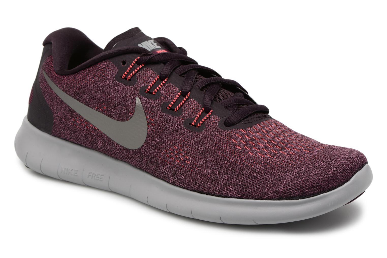 Sportssko Nike Wmns Nike Free Rn 2017 Lilla detaljeret billede af skoene
