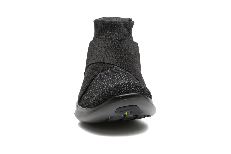 Chaussures de sport Nike Nike Free Rn Motion Fk 2017 Noir vue portées chaussures