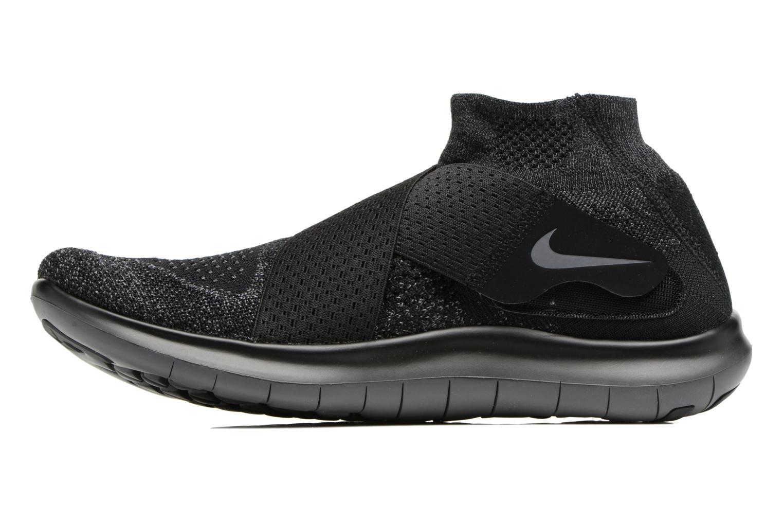 Chaussures de sport Nike Nike Free Rn Motion Fk 2017 Noir vue face