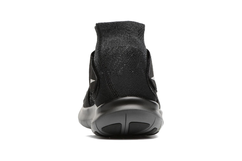 Chaussures de sport Nike Nike Free Rn Motion Fk 2017 Noir vue droite