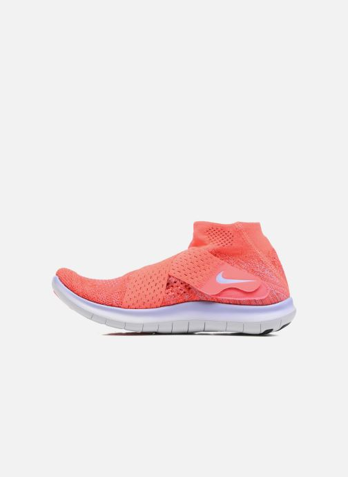Chaussures de sport Nike W Nike Free Rn Motion Fk 2017 Rouge vue face