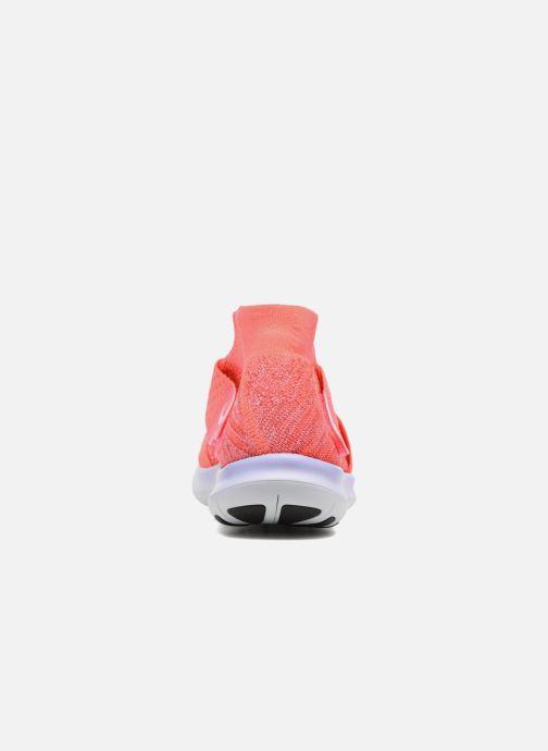 Zapatillas de deporte Nike W Nike Free Rn Motion Fk 2017 Rojo vista lateral derecha
