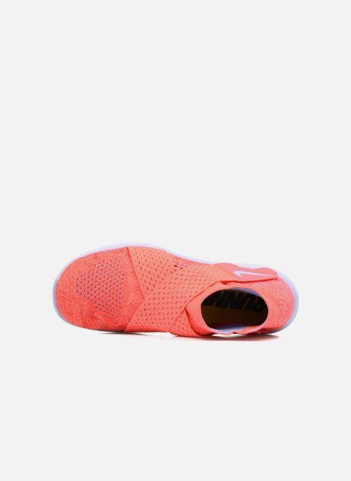 Zapatillas de deporte Nike W Nike Free Rn Motion Fk 2017 Rojo vista lateral izquierda