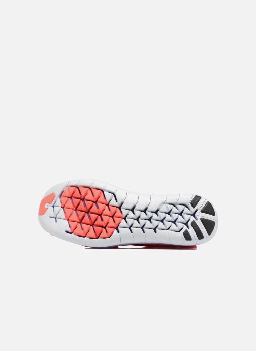 Chaussures de sport Nike W Nike Free Rn Motion Fk 2017 Rouge vue haut